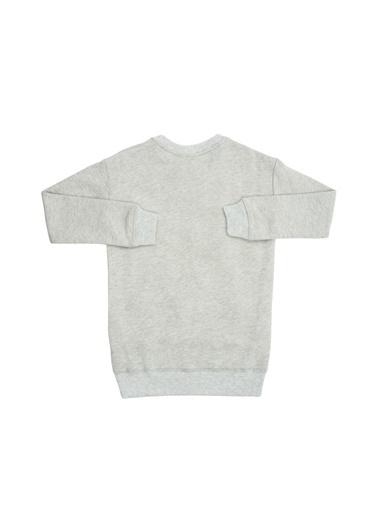 Asymmetry Sweatshirt Gri